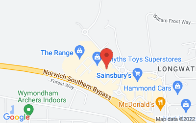 Map of M&S Longwater