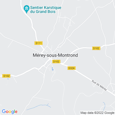 bed and breakfast Mérey-sous-Montrond