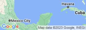 Mérida map