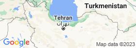 Māzandarān map