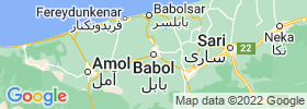 Babol map