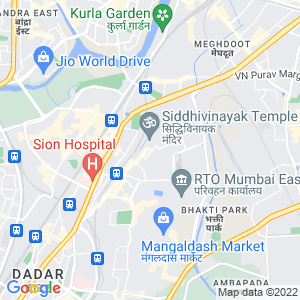 Google Map of M-3 Shiv Sneh Building CHS, Sion East, Mumbai - 400022