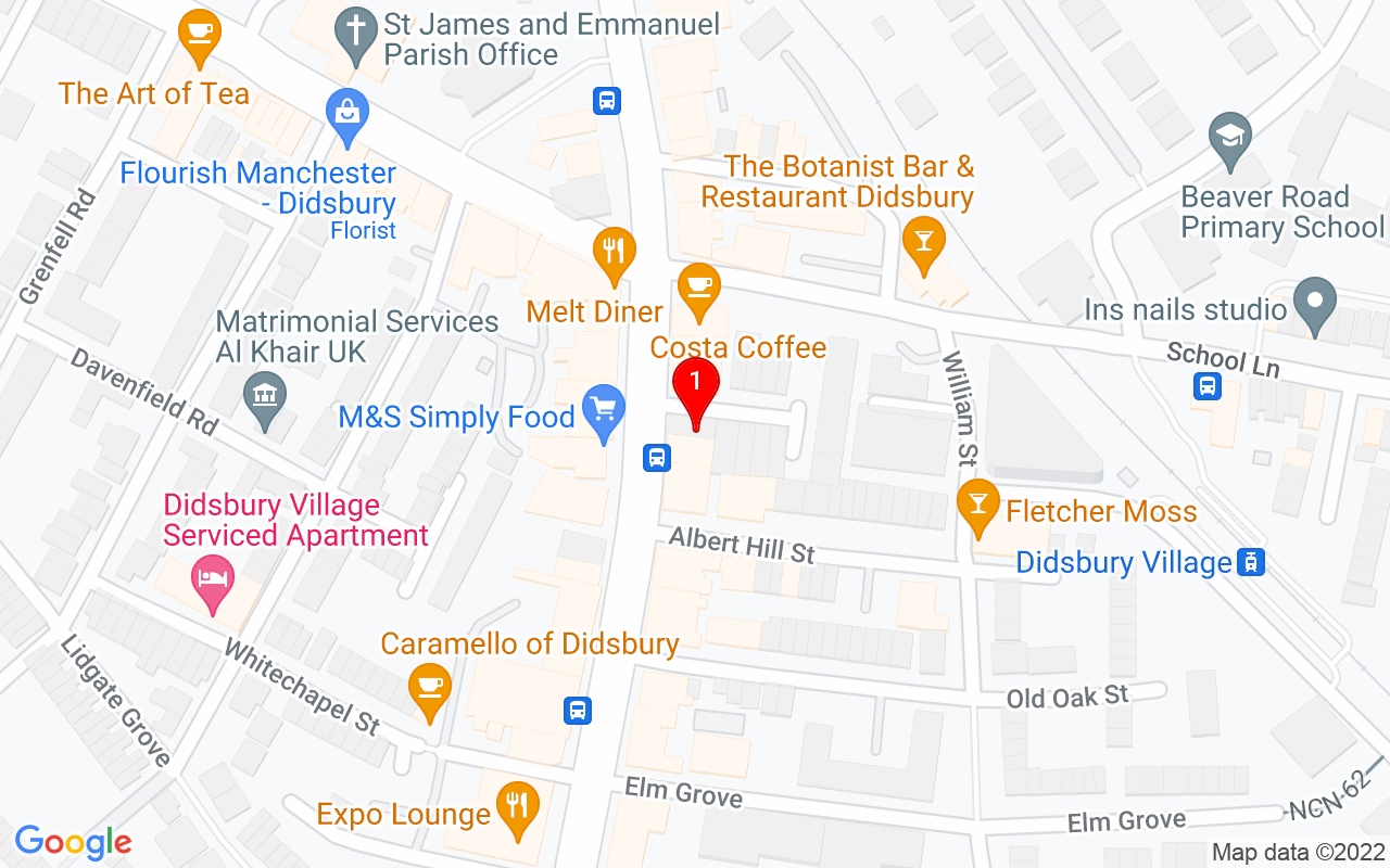 "Google Map of <span property=""streetAddress"">705 Wilmslow Road</span>,<br>
