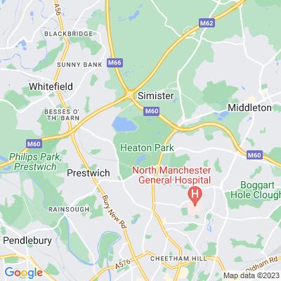 Heaton Park Location
