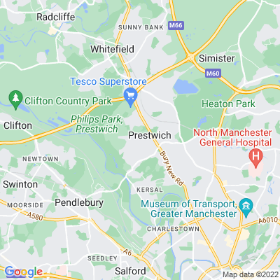 Prestwich Hills Location