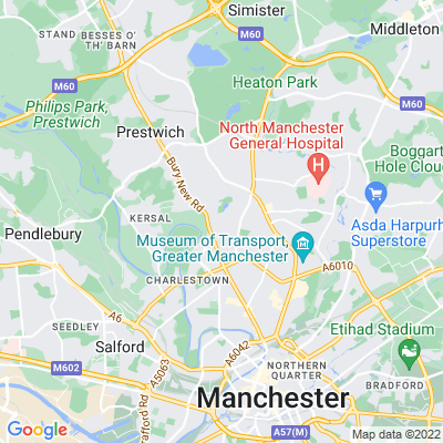 Manchester Zoological Gardens Location