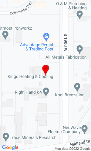 Google Map of MAW Equipment 3189 S 1900 W, Ogden, UT, 84401