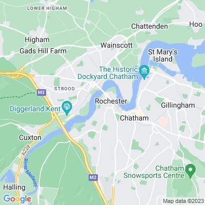 Bishopscourt, Rochester Location