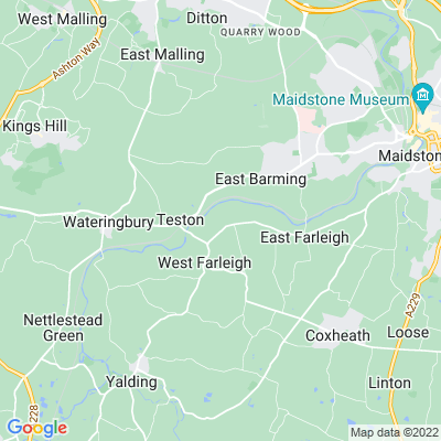 Court Lodge, West Farleigh Location
