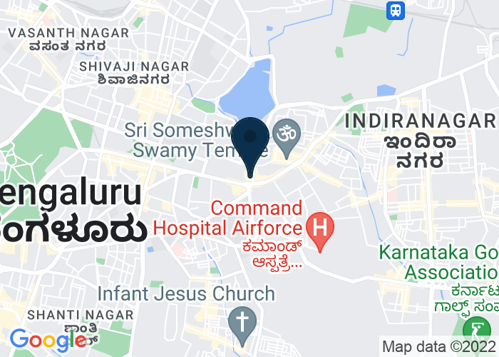 Map of MG Road, 41/3 Mahatma Gandhi Road, Bangalore, India