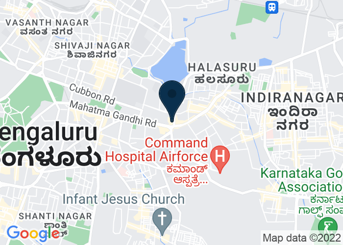 Map of MG Road, 41/3 Mahatma Gandhi Road, Bangalore, India