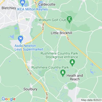 Great Brickhill Manor Location