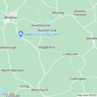 Rectory, Hoggeston Location