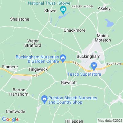 Tingewick Hall Location