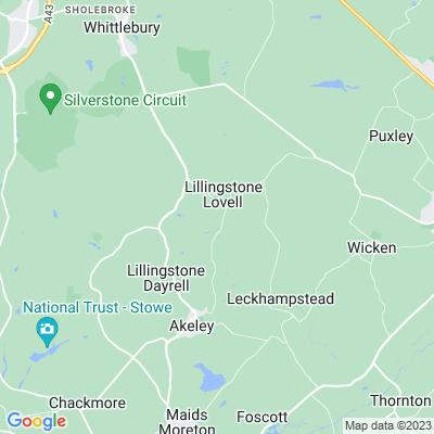Lillingstone Hall Location