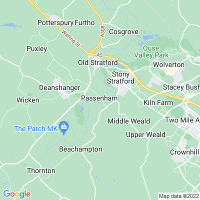 Passenham Manor Location