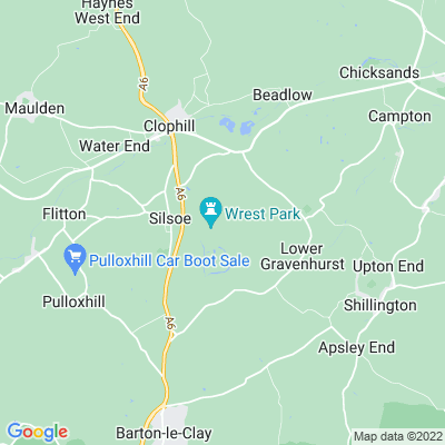 Wrest Park Location