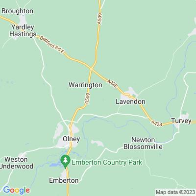 Lavendon Grange Location
