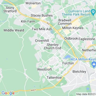 Shenley Park Location