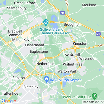 Woughton House Location