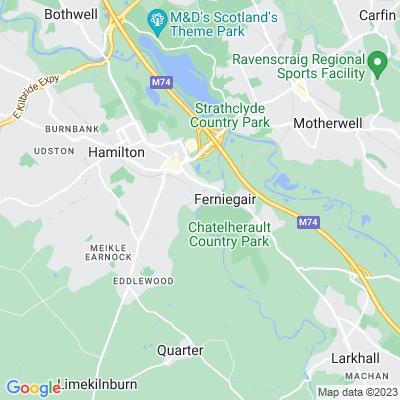 Barncluith Location