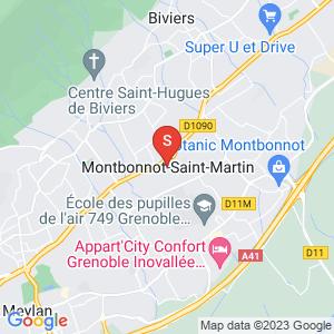 Carte Serrurier Montbonnot Saint Martin