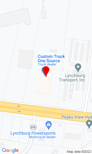 Google Map of MRT Manufacturing Inc. 12660 E Lynchburg Salem Turnpike, Forest, VA, 24551
