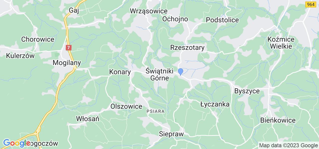 Dostępne w Świątnikach Górnych lokalizacje punktów nadania, z których możesz skorzystać, chcąc wysłać turbinę do regeneracji w największym serwisie w Polsce