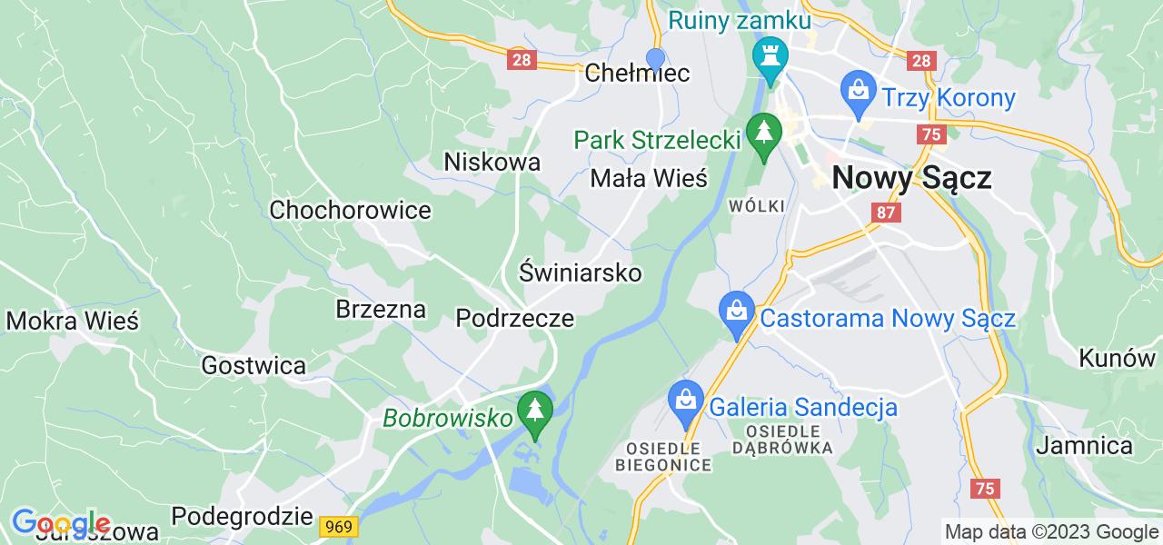 Dostępne w Świniarsku lokalizacje punktów nadania, z których możesz skorzystać, chcąc wysłać turbinę do regeneracji w największym serwisie w Polsce