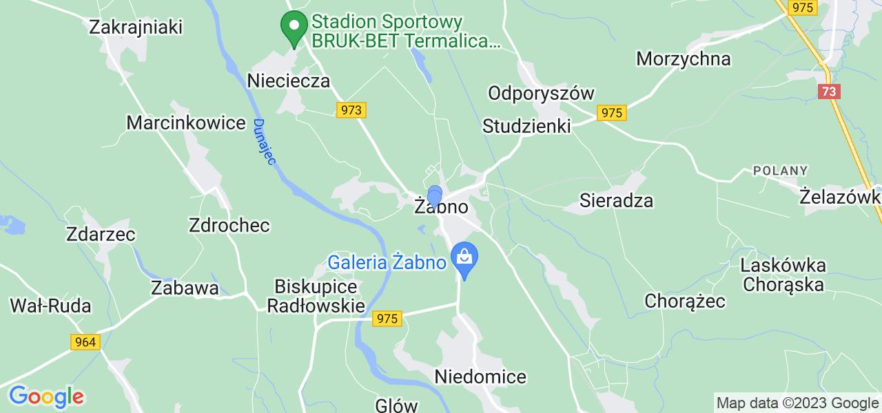 Dostępne w Żabnie lokalizacje punktów nadania, z których możesz skorzystać, chcąc wysłać turbinę do regeneracji w największym serwisie w Polsce