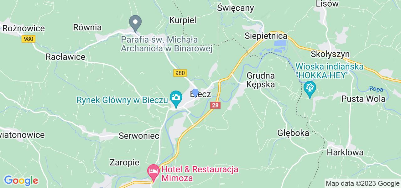 Dostępne w Bieczu lokalizacje punktów nadania, z których możesz skorzystać, chcąc wysłać turbinę do regeneracji w największym serwisie w Polsce