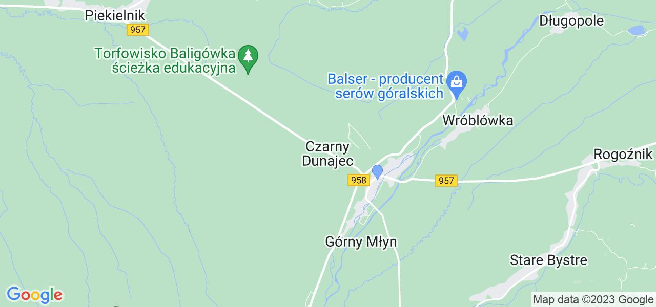 Dostępne w Czarnym Dunajcu lokalizacje punktów nadania, z których możesz skorzystać, chcąc wysłać turbinę do regeneracji w największym serwisie w Polsce