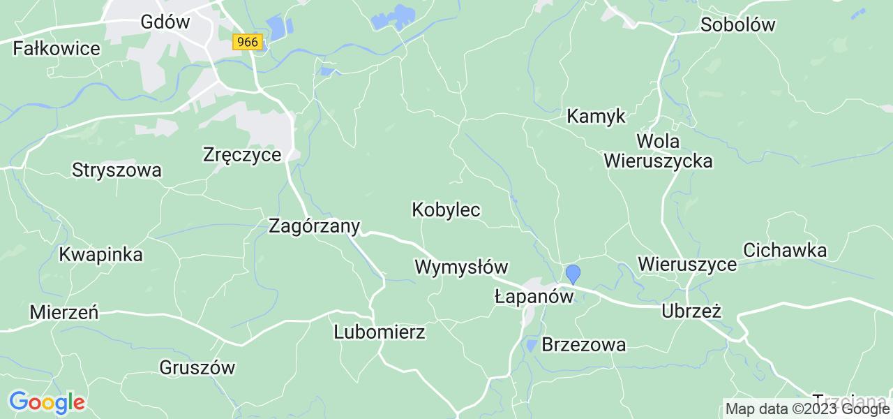 Dostępne w Kobylcu lokalizacje punktów nadania, z których możesz skorzystać, chcąc wysłać turbinę do regeneracji w największym serwisie w Polsce