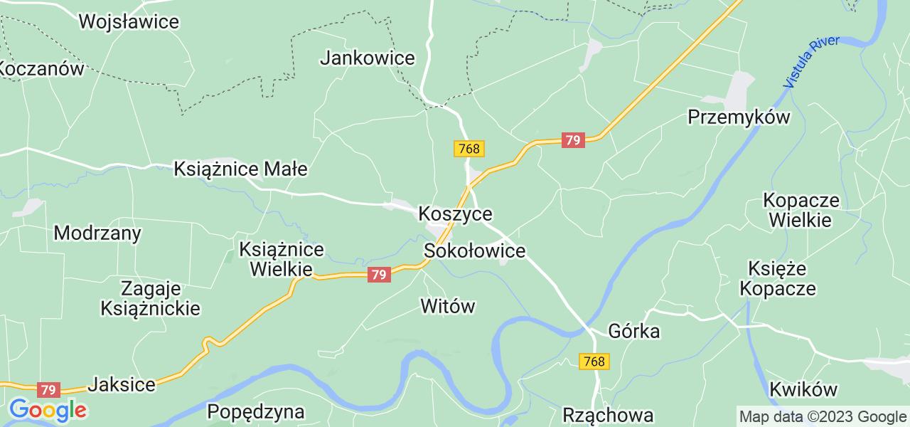 Dostępne w Koszycach lokalizacje punktów nadania, z których możesz skorzystać, chcąc wysłać turbinę do regeneracji w największym serwisie w Polsce