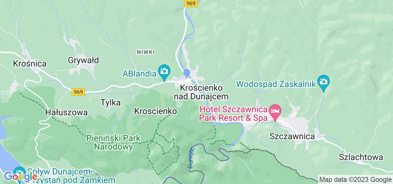 Dostępne w Krościenku nad Dunajcem lokalizacje punktów nadania, z których możesz skorzystać, chcąc wysłać turbinę do regeneracji w największym serwisie w Polsce