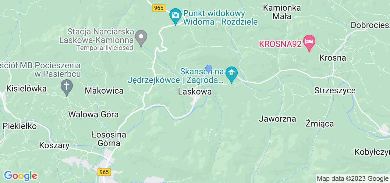 Dostępne w Laskowej lokalizacje punktów nadania, z których możesz skorzystać, chcąc wysłać turbinę do regeneracji w największym serwisie w Polsce