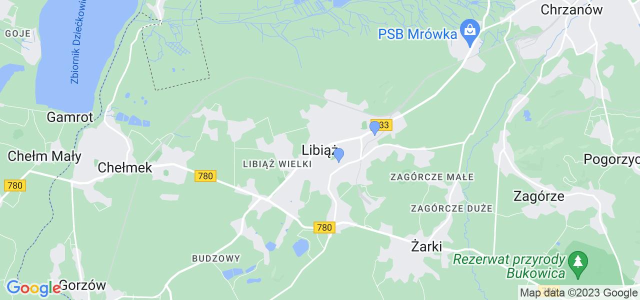 Dostępne w Libiążu lokalizacje punktów nadania, z których możesz skorzystać, chcąc wysłać turbinę do regeneracji w największym serwisie w Polsce