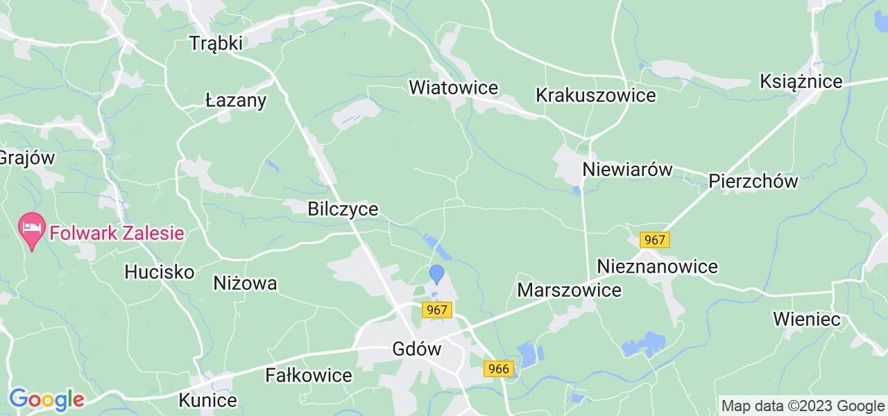 Dostępne w Liplasie lokalizacje punktów nadania, z których możesz skorzystać, chcąc wysłać turbinę do regeneracji w największym serwisie w Polsce