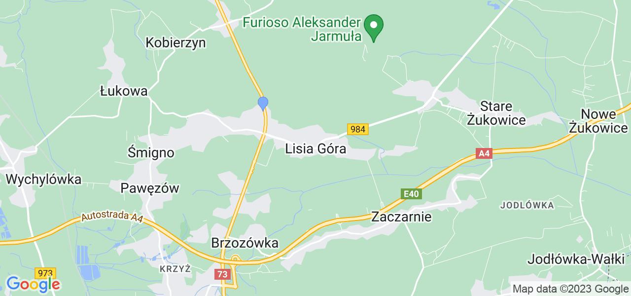 Dostępne w Lisiej Górze lokalizacje punktów nadania, z których możesz skorzystać, chcąc wysłać turbinę do regeneracji w największym serwisie w Polsce