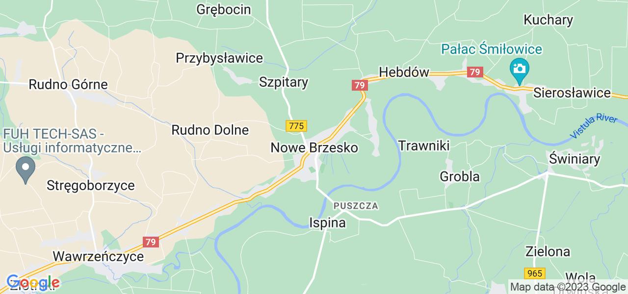 Dostępne w Nowym Brzesku lokalizacje punktów nadania, z których możesz skorzystać, chcąc wysłać turbinę do regeneracji w największym serwisie w Polsce