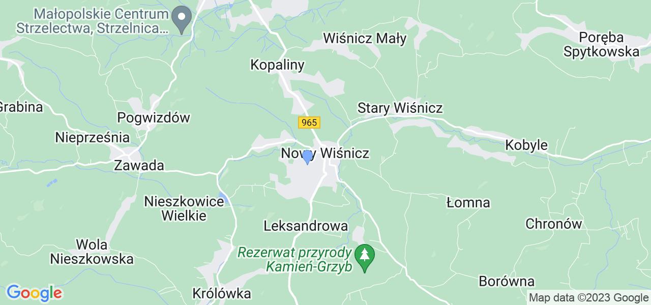 Dostępne w Nowym Wiśniczu lokalizacje punktów nadania, z których możesz skorzystać, chcąc wysłać turbinę do regeneracji w największym serwisie w Polsce