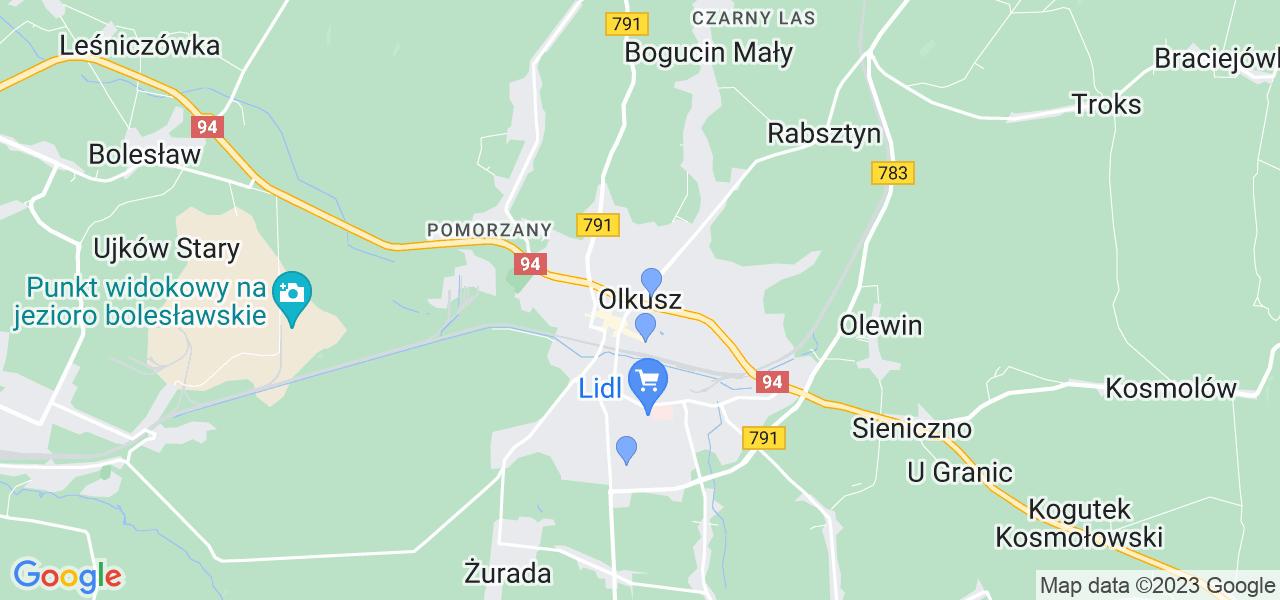 Dostępne w Olkuszu lokalizacje punktów nadania, z których możesz skorzystać, chcąc wysłać turbinę do regeneracji w największym serwisie w Polsce