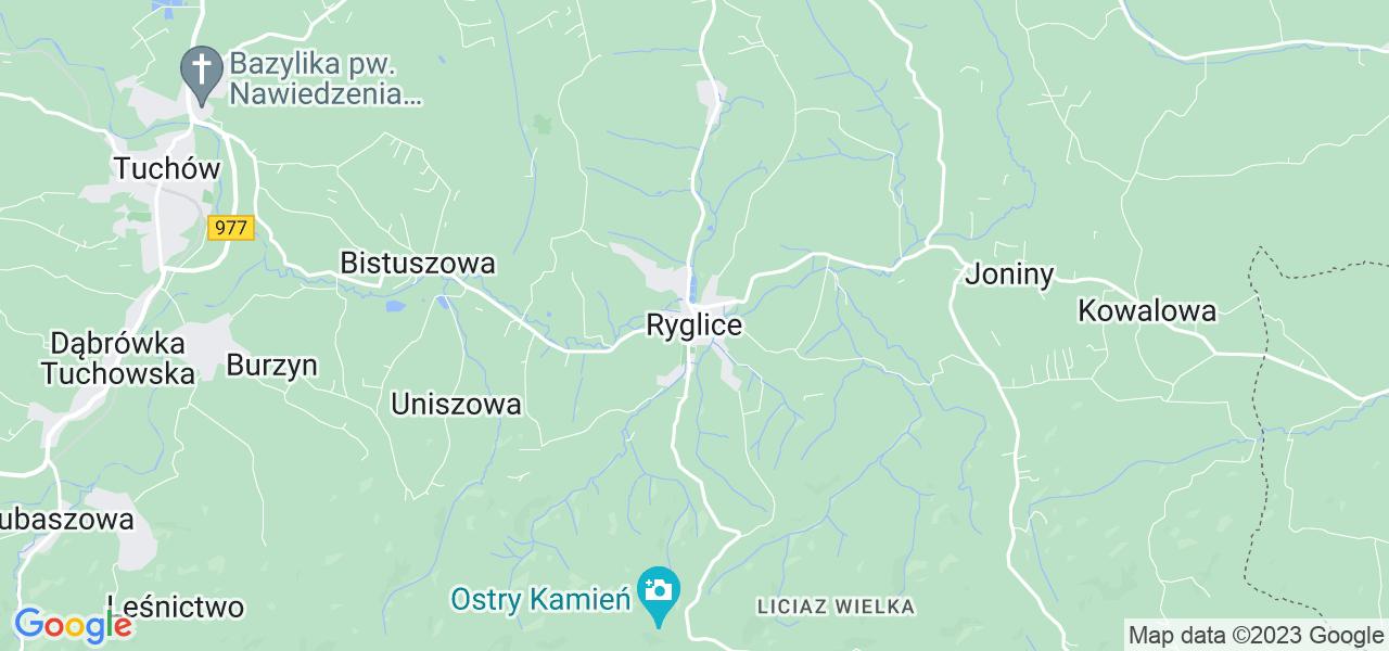 Dostępne w Ryglicach lokalizacje punktów nadania, z których możesz skorzystać, chcąc wysłać turbinę do regeneracji w największym serwisie w Polsce