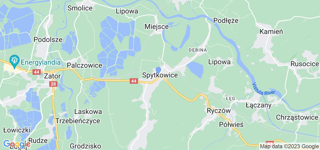 Dostępne w Spytkowicach lokalizacje punktów nadania, z których możesz skorzystać, chcąc wysłać turbinę do regeneracji w największym serwisie w Polsce