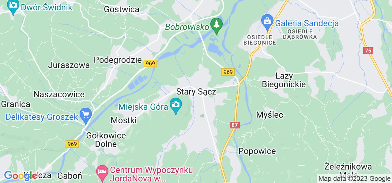 Dostępne w Starym Sączu lokalizacje punktów nadania, z których możesz skorzystać, chcąc wysłać turbinę do regeneracji w największym serwisie w Polsce