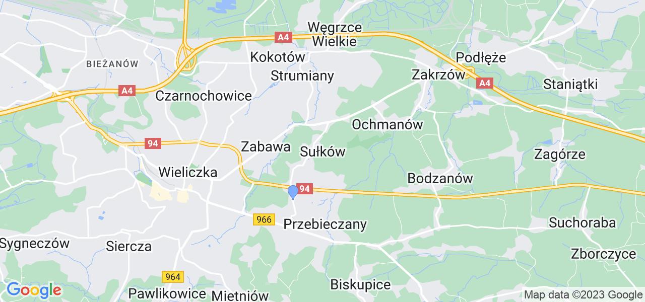Dostępne w Sułkowie lokalizacje punktów nadania, z których możesz skorzystać, chcąc wysłać turbinę do regeneracji w największym serwisie w Polsce