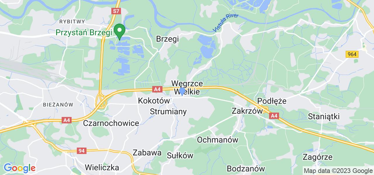 Dostępne w Węgrzcach Wielkich lokalizacje punktów nadania, z których możesz skorzystać, chcąc wysłać turbinę do regeneracji w największym serwisie w Polsce
