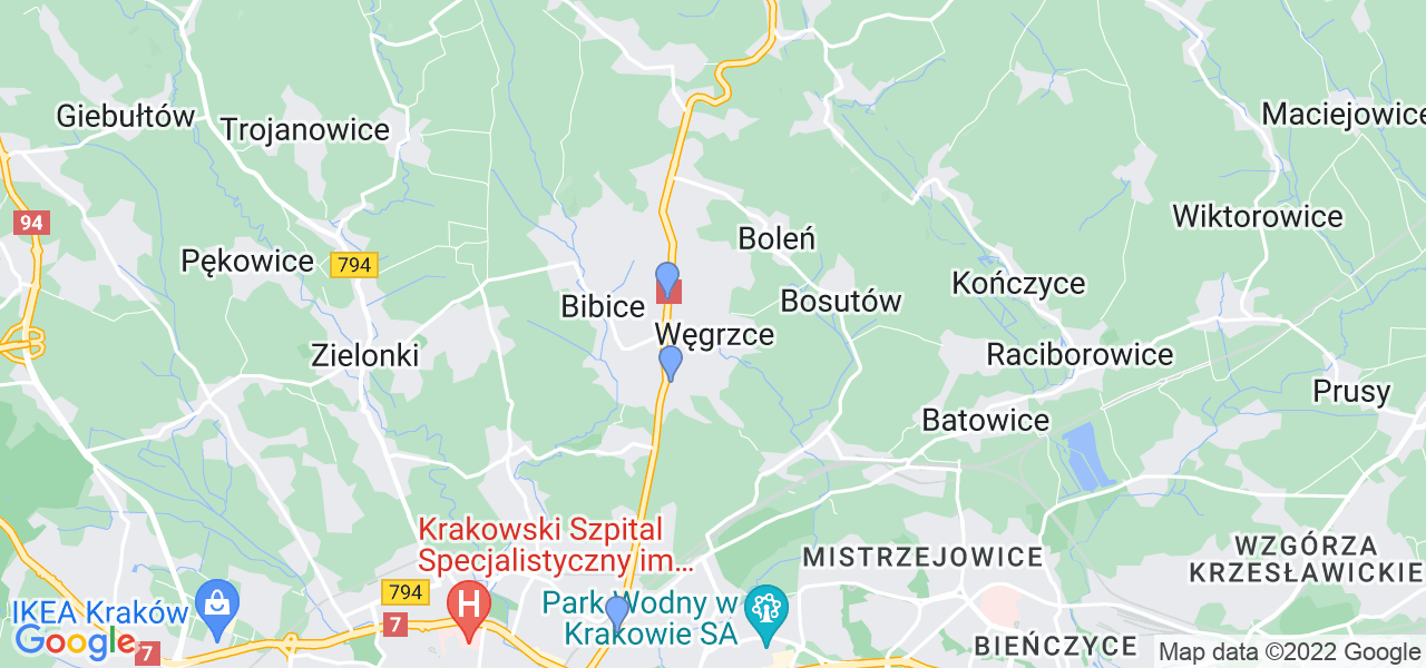 Dostępne w Węgrzcach lokalizacje punktów nadania, z których możesz skorzystać, chcąc wysłać turbinę do regeneracji w największym serwisie w Polsce