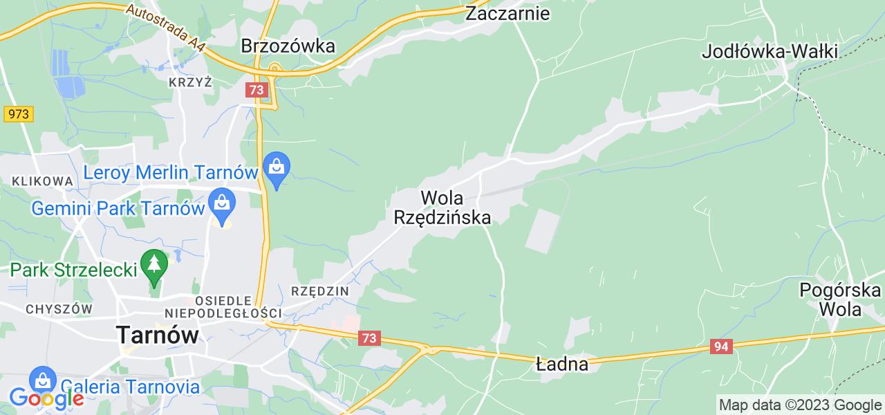 Dostępne w Woli Rzędzińskiej lokalizacje punktów nadania, z których możesz skorzystać, chcąc wysłać turbinę do regeneracji w największym serwisie w Polsce