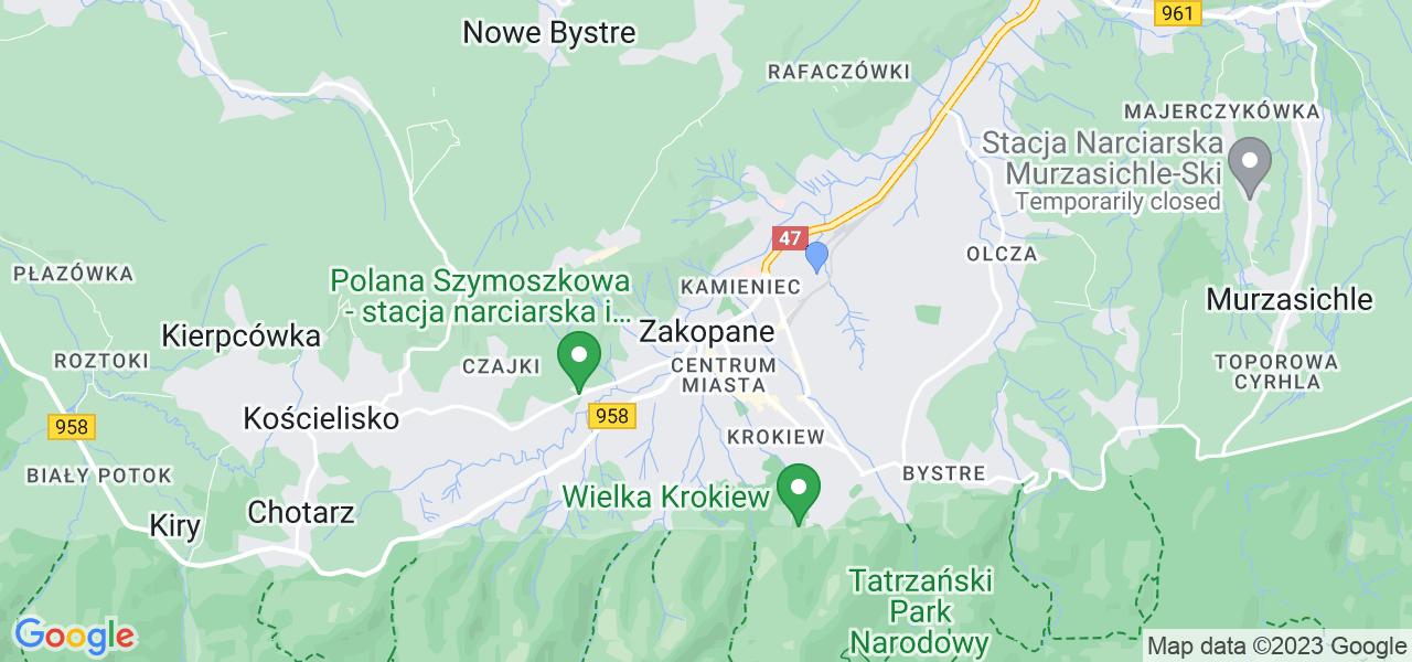 Dostępne w Zakopanym lokalizacje punktów nadania, z których możesz skorzystać, chcąc wysłać turbinę do regeneracji w największym serwisie w Polsce